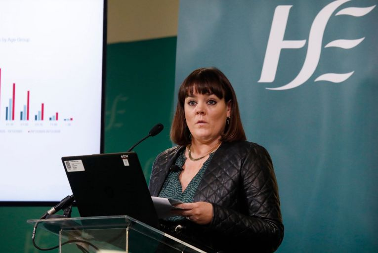 Niamh O'Beirne, national lead for testing and tracing with the HSE: growth in cases has forced a radical rethink of the system