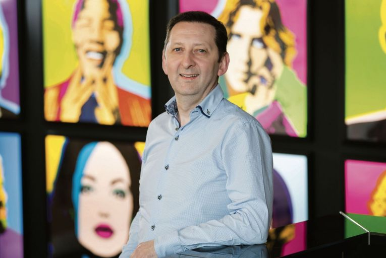 Roger Clancy, vice-president of operations and general manager at TELUS International Ireland. Picture: Karl Hussey Photography