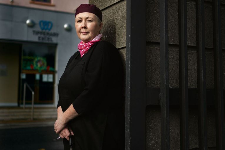 Restaurateur Annmarie Ryan at her French Quarter cafe in Tipperary town Pic: Barry Cronin