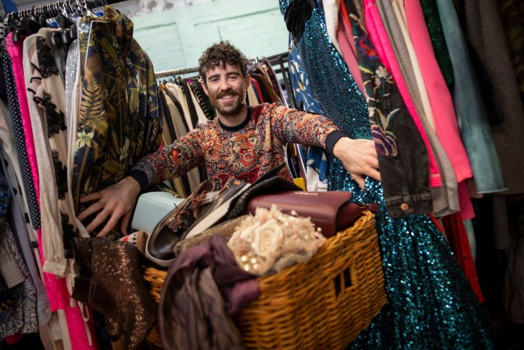 Rónán Ó Dálaigh, co-founder and chief executive, Thriftify: 'By connecting local charity shops directly with their communities, we believe charities can substantially grow their income.' Picture: Fergal Phillips