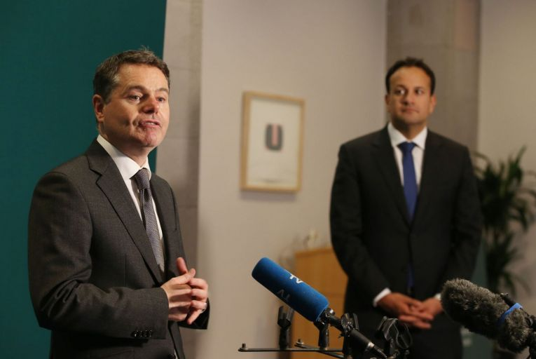 Paschal Donohoe and Leo Varadkar are close politically and any policy differences between them are rare, but a government source confirmed that there were still 'huge reservations' about new incentives to promote remote working