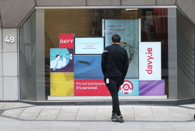 'Davy's communication since last Tuesday, when the Central Bank revealed it was imposing a fine of €4.13 million on the stockbroker, has been truly embarrassing'. Picture: Sasko Lazarov/Rollingnews.ie