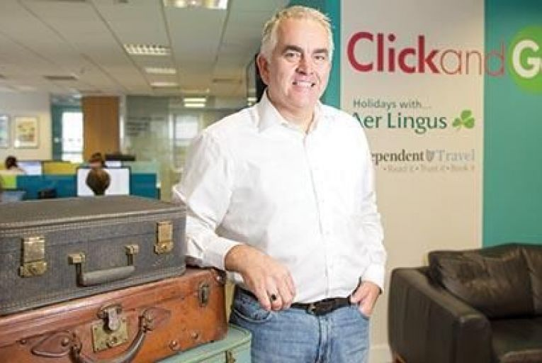 Paul Hackett, chief executive of ClickandGo: We have to offer something different Pic: Fergal Phillips