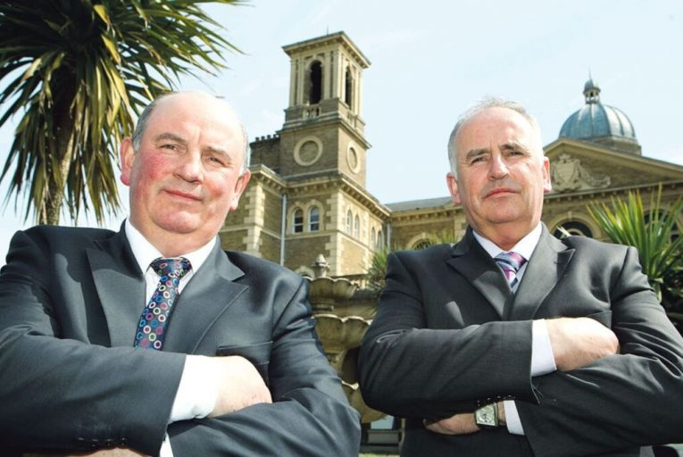 The Comer Group, owned by Luke and Brian Comer, is one of Ireland's biggest property companies.xtra