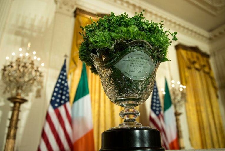 'Washington comes alive with in the days leading up to and following the ceremony. Large delegations of Irish businesses, cultural and educational organisations descend on the city for one of the biggest networking occasions of the year.'
