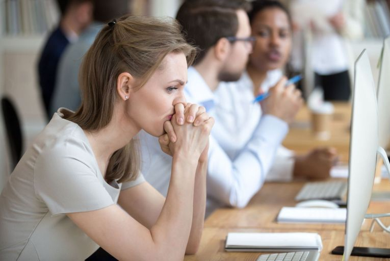 Morale was recorded as having dropped 23 per cent and motivation by 17 per cent since September last year. Picture: Getty