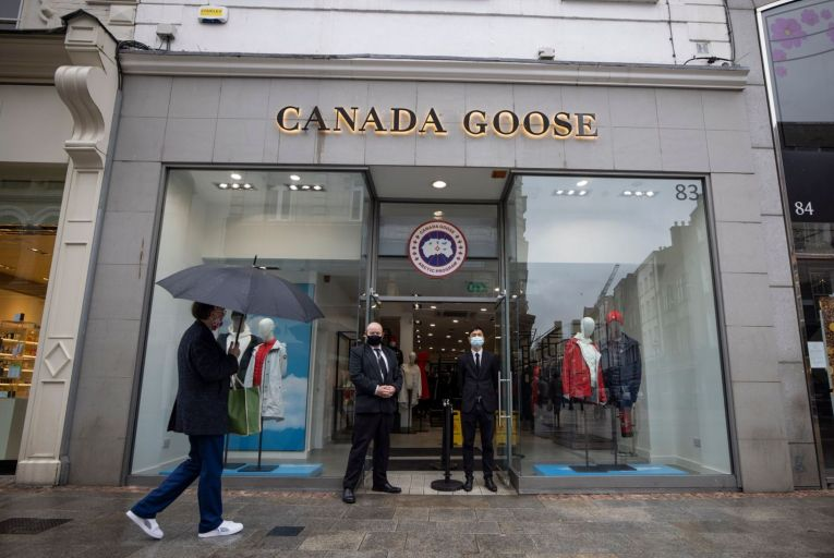 A spokeswoman for the Toronto brand confirmed the departure and said that it currently has no plans to relocate in Ireland.