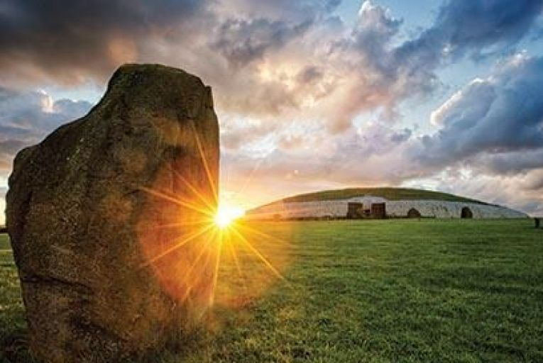 Newgrange in Co Meath is more than 5,000 years old and a Unesco World Heritage site