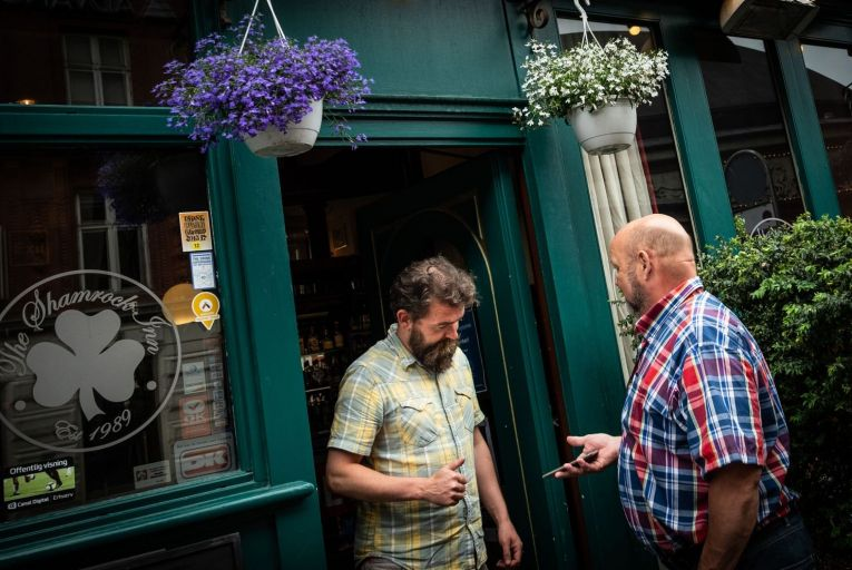 Naoise McNamara, a Dubliner working in the Shamrock Inn in Copenhagen, said the key to the successful reopening in Denmark was the wide availability of fast testing systems.