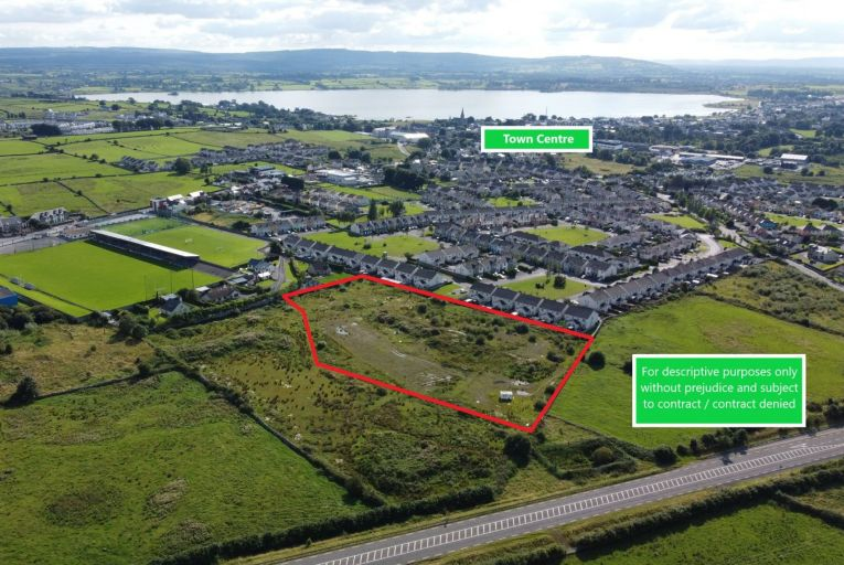 Site with planning permission for 42 homes in Co Galway