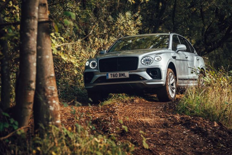 The Bentley Bentayga is surprisingly capable at off-roading