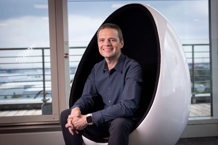 Eric Mosley, Chief executive of Workhuman; seed investors have made several hundred times their money from the share deal announced last week. Picture: Fergal Phillips