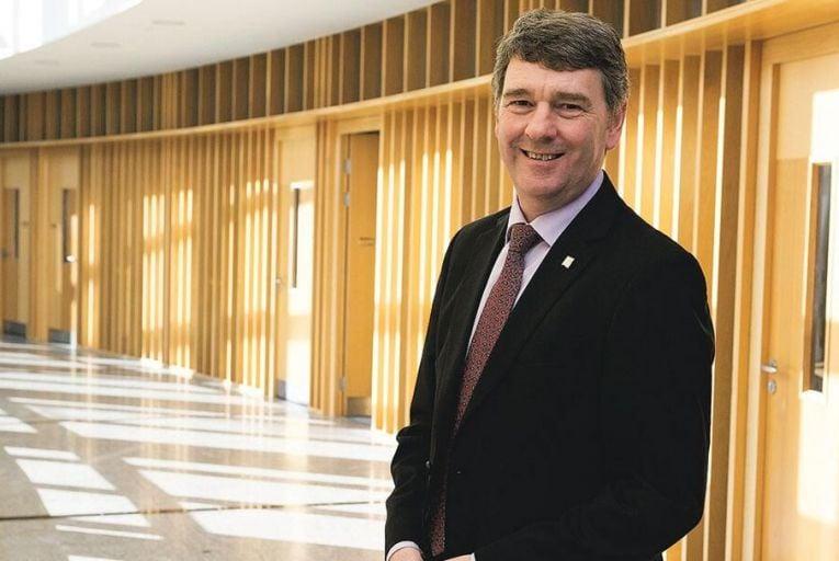 Dr Peter Heffernan, chief executive, Marine Institute