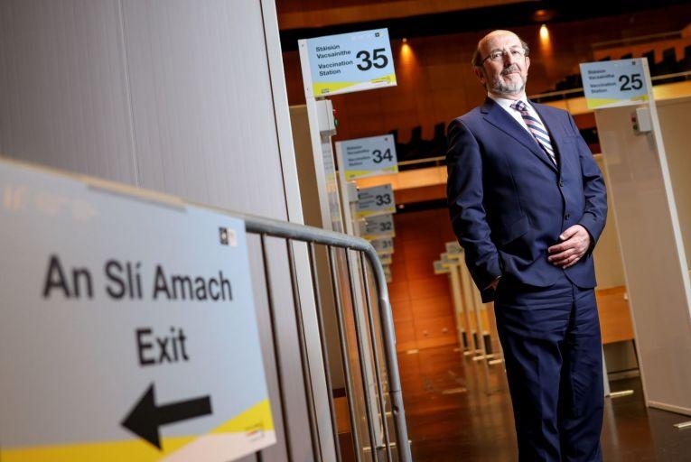 Professor Brian MacCraith, chair of the Covid-19 vaccination task force Pic: Fergal Phillips