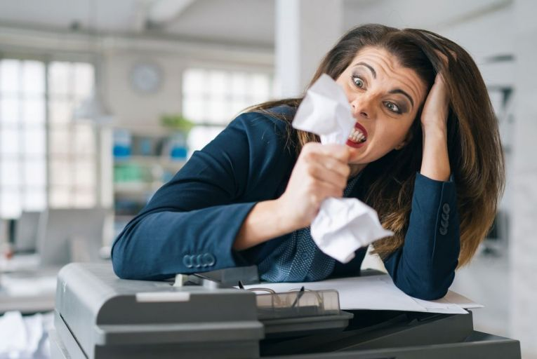 Emer McLysaght: In lockdown, no one can hear you scream at your printer