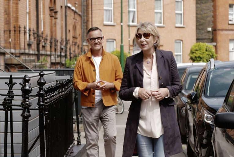 Brendan Courtney and Áine Lawlor in Keys to my Life, Sunday at 8.30pm on RTÉ One