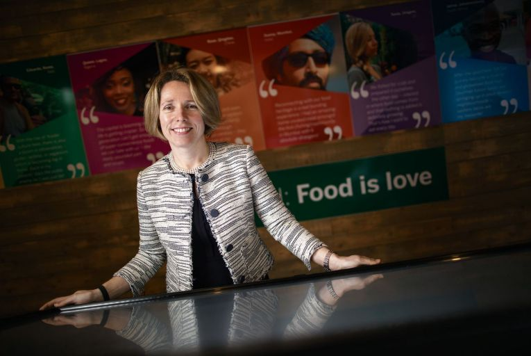Tara McCarthy, chief executive of Bord Bia: 'food industry continued to export right the way through the crisis'. Picture: Fergal Phillips