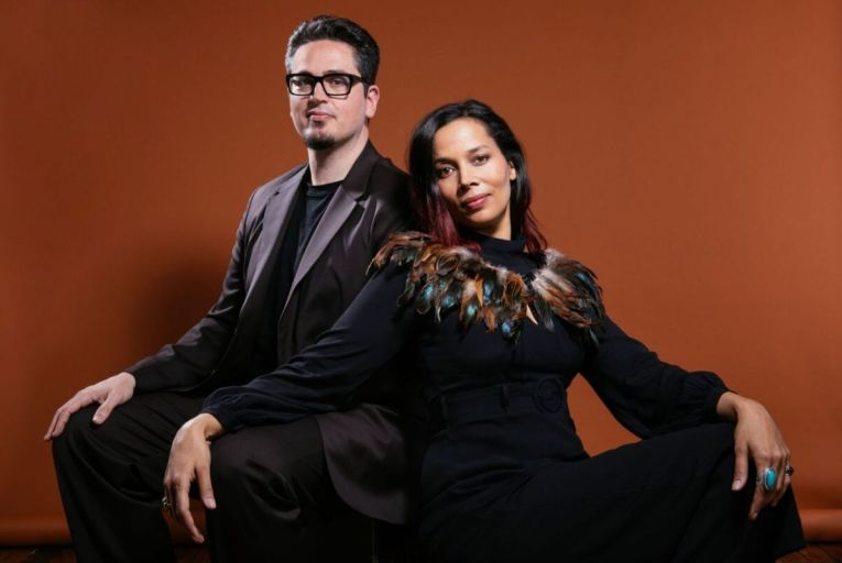 Rhiannon Giddens and Francesco Turrisi present a genre-stretching suite of folk songs on They're Calling Me Home