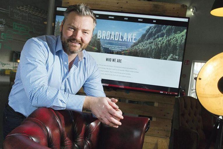Pete Smyth, chief executive of Broadlake Pic: Maura Hickey