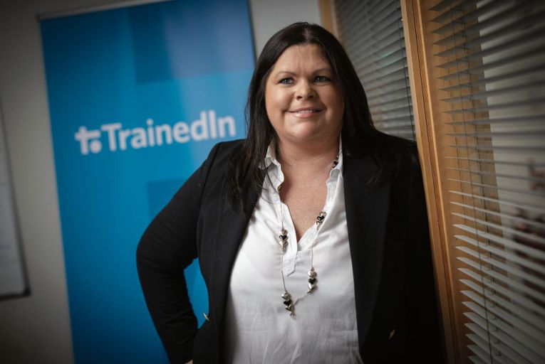Sorcha Finucane, founder of TrainedIn: 'the pandemic has helped the business in some respects' Picture: Fergal Phillips