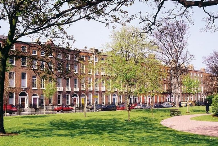 Mountjoy Square in Dublin 1: a possible site for regeneration