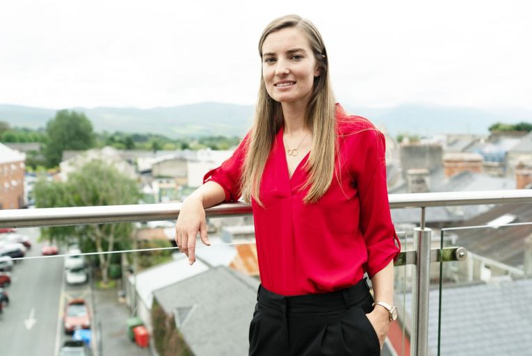Emily Brick, the Tralee-born founder and director of Athena Analytics