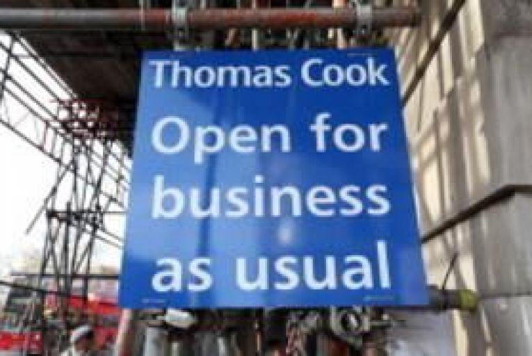 Thomas Cook reports £586m loss