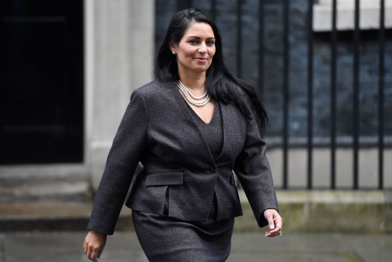 Priti Patel, the British Home Secretary, acknowledged that Britain's new immigration rules would have blocked her parents from moving to Britain from Uganda