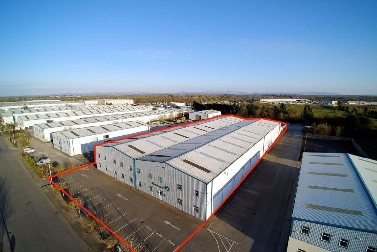 Unit L2 Naas Enterprise Park comprises 3,167 square metres including 2,712 square metres of warehousing and 437 square metres of offices