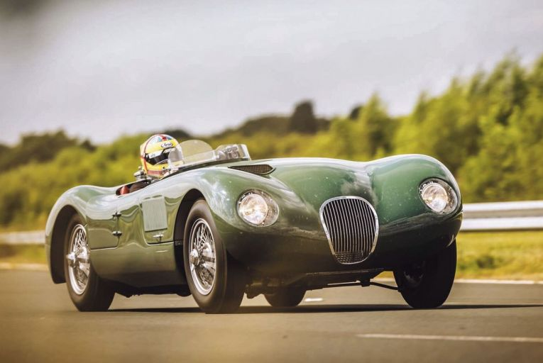 On the marque: Jaguar harks back to a winning formula, but there's one catch — you can't drive it on the road