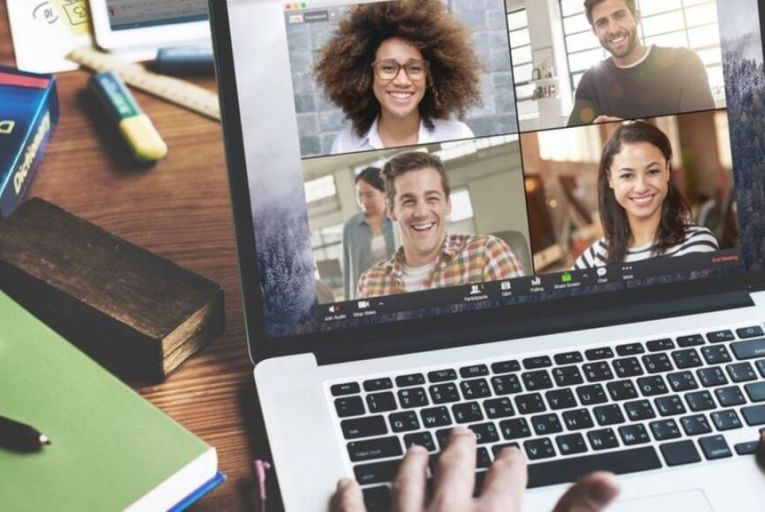 Setting up a video chat for coffee breaks where staff can chat to each other during the working day can help employees feel more connected
