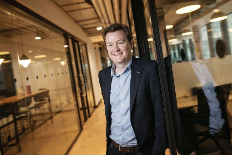 Colm O\'Cuinneain, Greenhouse general manager, believes the firm is well positioned to grow once the pandemic has passed. Picture: Fergal Phillips