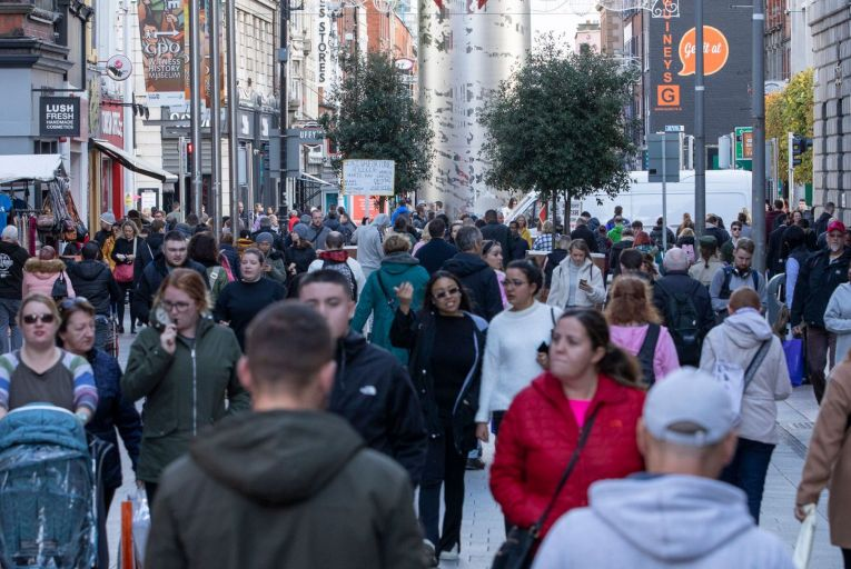 Ground-floor vacancies are as high as 31 per cent for Dublin's Henry Street but this figure expected to fall in the coming weeks. Picture: Fergal Phillips