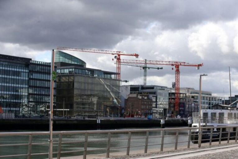 The Dublin office market has 'effectively been on pause for the last nine months'. Picture: Getty