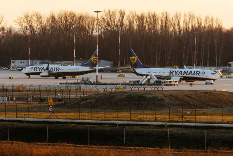 Covid-19 could ground entire fleet, says Ryanair