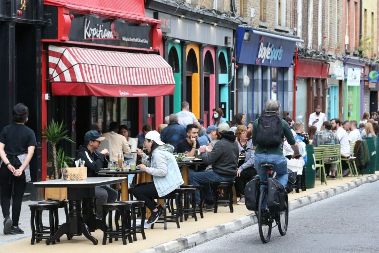 The hospitality industry and many members of the public want to see indoor dining resume, but the consequences of proceeding too swiftly may be severe. Picture: Rollingnews.ie