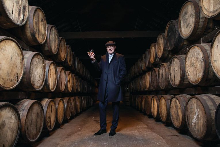 Kevin O'Gorman: 'I really had to pinch myself. Bloody hell, I am now the master distiller.' Photo: Clare Keogh