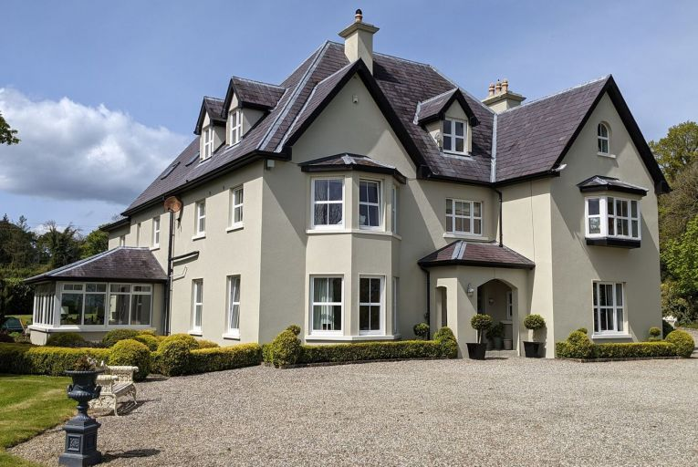 'Accessed via a sweeping driveway, Curraghtemple is as handsome an edifice and as comfortable a home as you could wish for'