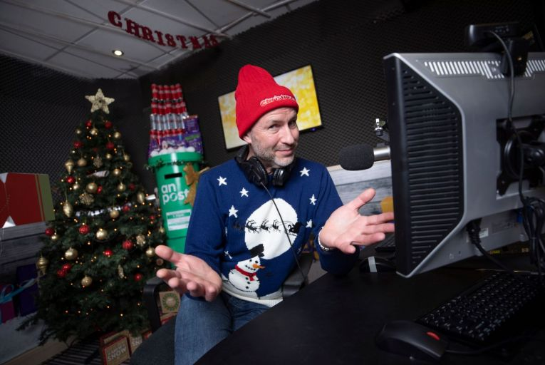 Garvan Rigby, co-founder of Christmas FM. Picture: Fergal Phillips