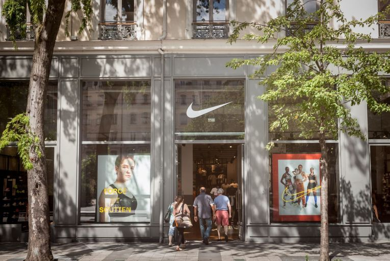 Nike has delivered good numbers in the latest quarter, with sales around the same level as last year despite a 33 per cent drop in its promotional spending. Photo: Getty