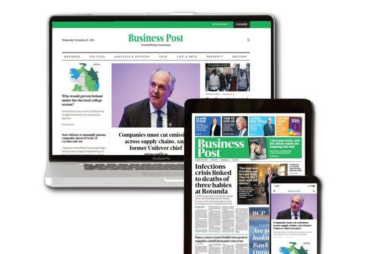 We're hiring : The Business Post is seeking a business editor