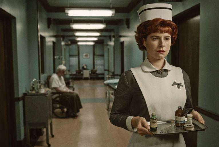 Jessie Buckley, who plays homicidal nurse Oraetta Mayflower in Season 4 of Fargo, is up for an IFTA