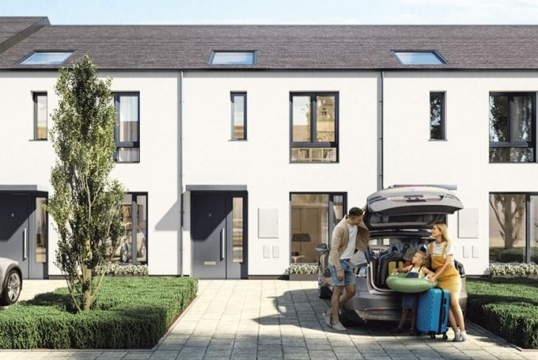 Newly designed, A-rated homes in west Dublin will start at €300,000