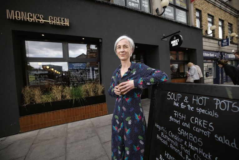 Angela Ruttledge of Monck's Green café in Phibsborough, Co Dublin: 'If we had closed altogether, it would have been the same as opening an entirely new restaurant'. Picture: Fergal Phillips