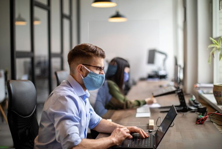 Many young professionals will not easily be convinced of the need to return to the office when they can work remotely. Photo: Getty