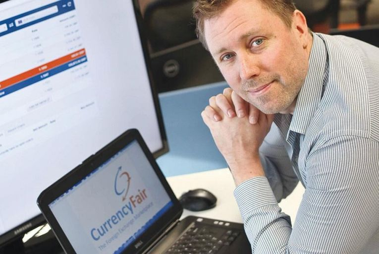 Brett Meyers, founder  and chief executive  of Currencyfair