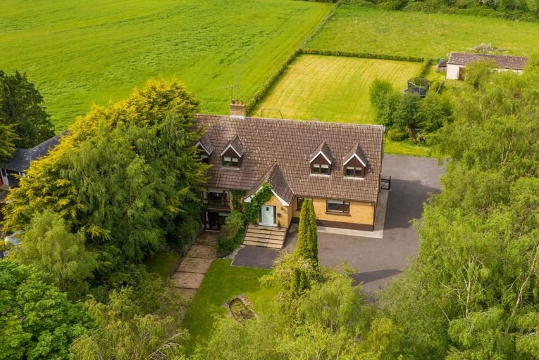 The Paddocks, near Athy in Co Kildare, sits on 1.63 acres and is on the market for €495,000