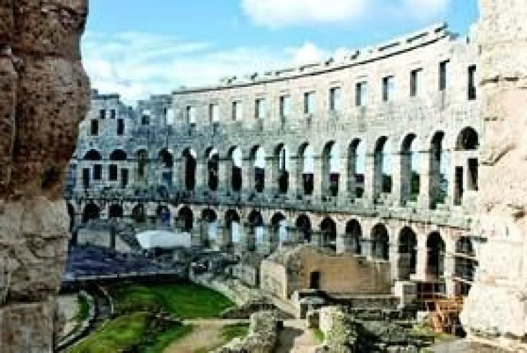 Pula\'s ancient arena. Photo: Getty