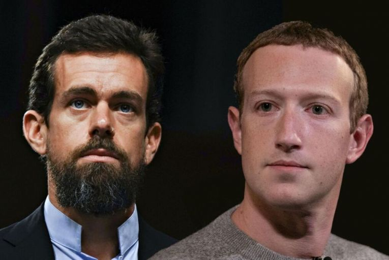 Jack Dorsey, Twitter chief executive, and Mark Zuckerberg, Facebook chief executive, are finally having to face up to the responsibilities other media have always had to deal with