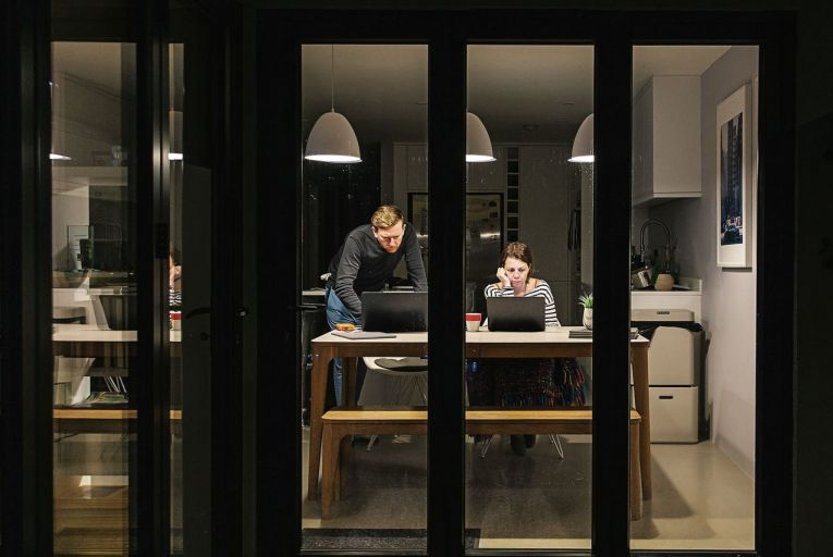 A year of lockdown and working from home has made many people rethink their open-plan living spaces. Picture: Getty